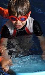 Photograph: Student swimming