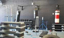 Photograph: Senior Campus Gym Room