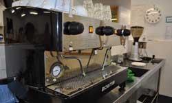 Photograph: Cafe Cappucino machine