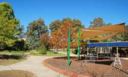 Photograph: Preschool playground area